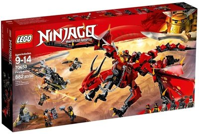 Lego 70653 Ninjago Hunted Firstbourne
