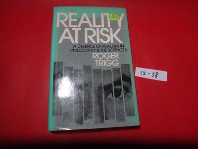 【愛悅二手書坊 12-38】Reality At Risk