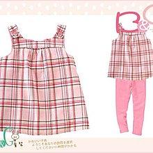 【B& G童裝】正品美國進口GYMBOREE粉紅色格紋布背心上衣6,7,8yrs