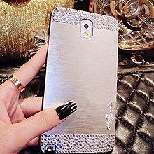華碩 ZenFone2 5吋 貼鑽 金屬拉絲殼 MOTOMO 金屬拉絲 貼鑽 背蓋 硬殼 保護套 手機殼