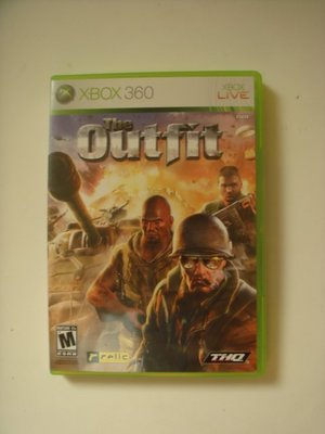 XBOX360 THE OUTFIT 重裝英豪(英文字幕)