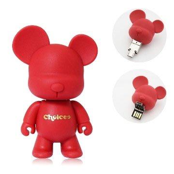 【全新絕版收藏】 Choicee x MiniQee 大頭熊 16GB 隨身碟