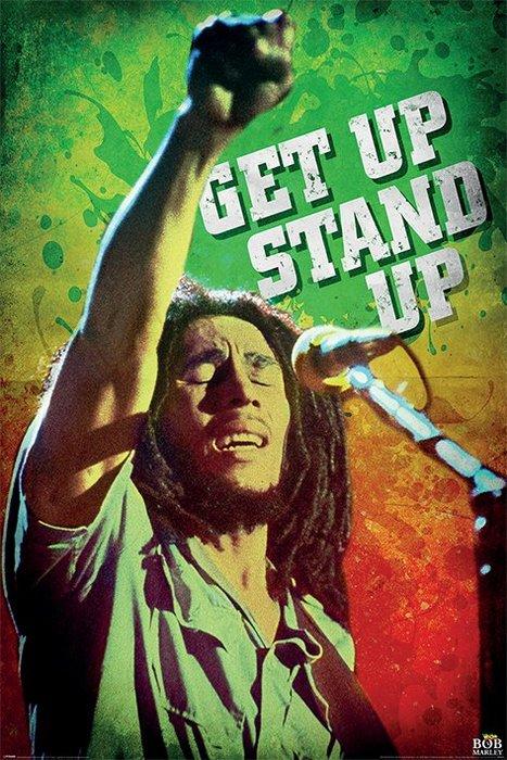 英國進口海報 PP34712( Bob Marley (Get Up Stand Up))