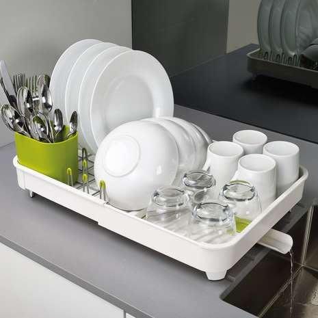 雷貝卡**Joseph Joseph 可延伸杯碗盤瀝水組/餐具架