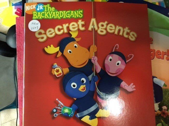 英文童書 the backyardigans the secret agents nick