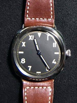 重序名錶 PANERAI 沛納海 RADIOMIR PAM00448 PAM448 大盒限量款 3日鍊 手上鍊腕錶