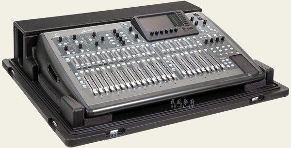 《民風樂府》美國 SKB 1RMX32-DHW X32 Mixer Case 防水纖維 X32專用 混音機箱 航空箱