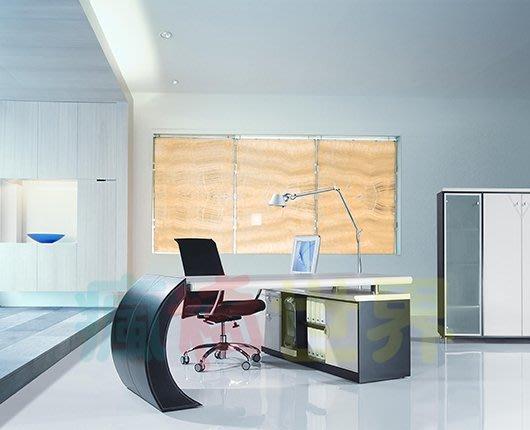 《瘋椅世界》OA辦公家具 全系列 訂製高級 主管桌 EN-L9087 董事長桌/老闆桌/辦公桌/工作桌 需詢問