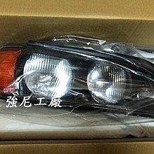 全新寶馬 BMW E39 大燈 燈殼 燈罩 塑膠面