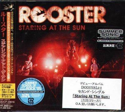 (甲上唱片) Rooster - Staring At The Sun - 日盤+1BONUS + VIDEO