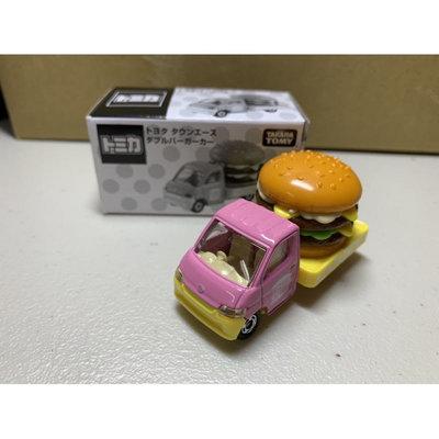 [現貨]Tomica多美 雙層牛肉吉事堡 漢堡車 粉紅 限定 Toyota