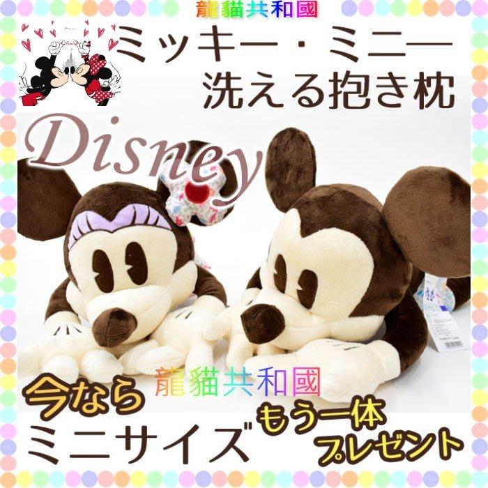 ※龍貓共和國※日本Disney迪士尼《米老鼠 米奇 米妮 花襯衫 抱枕 可愛趴睡療癒 特大絨毛娃娃玩偶60公分M》