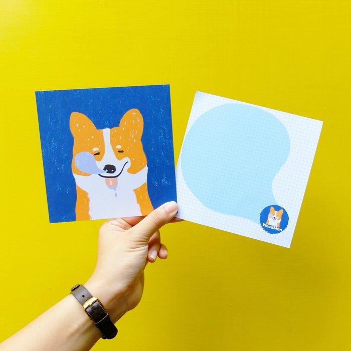 柯基杜估,有狗明信片
