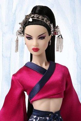 代購 Fashion Royalty RAREST OF ALL Ayumi 花木蘭 2017童話大會