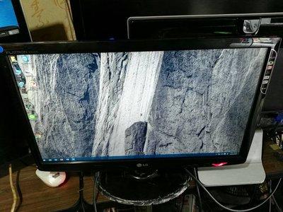 大台北 永和 二手 22吋螢幕   LG W2261V HDMI  FULL HD 另有23吋24吋 27吋28吋 新北市