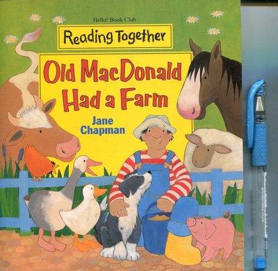 幼兒美語讀本 Old MacDonald Had a Farm《Reading Together》附CD