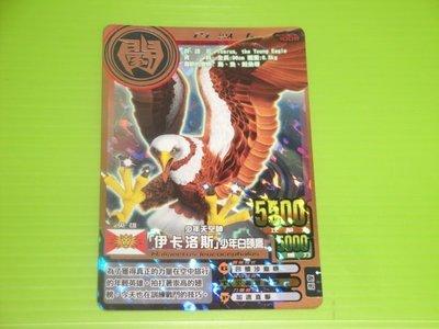 東京都-百獸大戰第4彈-銅卡-百獸卡-少年天空神 伊卡洛斯少年白頭鷹 (A-009)現貨