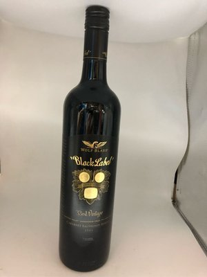 Wolf Blass Black Label 750ml 2005年