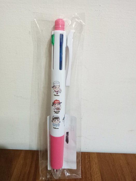 天使熊雜貨小舖~日本peko×ITSDEMO聯名系列~牛奶妹SARASA 四色筆 (黑紅藍綠色)  全新現貨