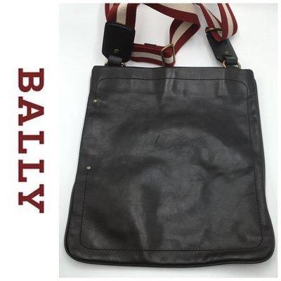 【皮老闆二店】 二手真品  BALLY  側背包  斜背包  K217
