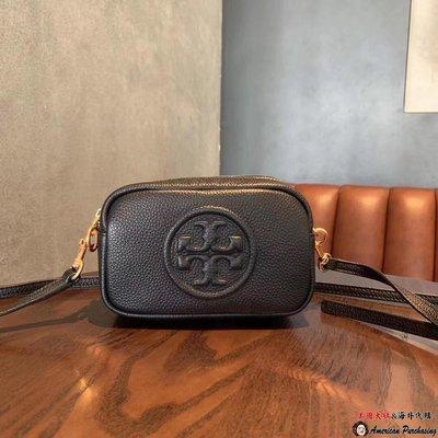 美國大媽代購 TORY BURCH 美國輕奢時尚 黑色 PRRRY BOME相機包 斜背包  美國代購
