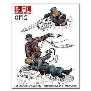1:35 RYE FIELD MODEL麥田Fallen Resin Figures For Panhter G/Dragon/Miniart/Fig