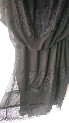 蕾絲洋裝近新BLUGiRL BLUMARINE 40 M 黒