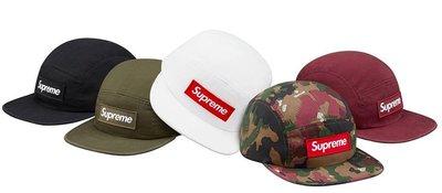 ☆AirRoom☆【現貨】017SS SUPREME MILITARY CAMP BOX LOGO CAP 帽子