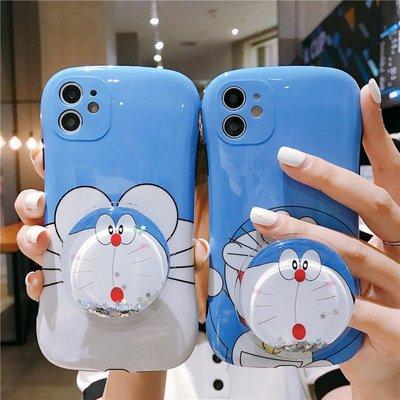 iPhone11手機殼可愛卡通多啦A夢小蠻腰蘋果8/XS Max/XR iPhone 8手機保護殼手機保護套網紅新款