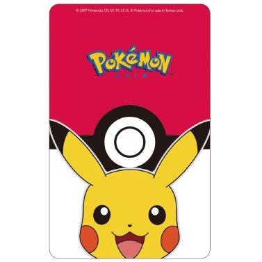 Pokemon精靈寶可夢寶貝球與皮卡丘閃卡悠遊卡