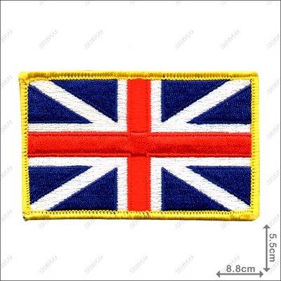 【ARMYGO】英國國旗 (彩色黃邊版)