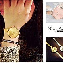 BV布魯斯{G05} 韓系質感全金屬文青氣質款圓錶細錶帶 10色現貨+預購 KOREA