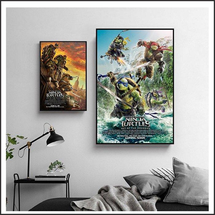 日本製畫布 電影海報 忍者龜 Teenage Mutant Ninja Turtles @Movie PoP 多款海報#