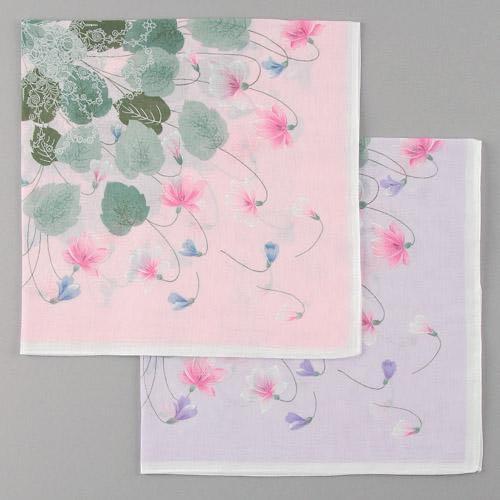 紫蘿蘭手帕