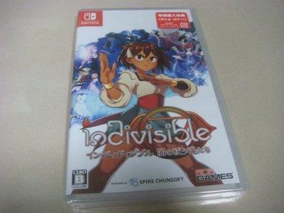 遊戲殿堂~NS『indivisible』日初回特典版全新品