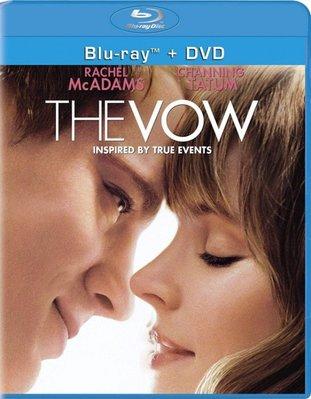 BD 全新美版【愛重來】【The Vow】Blu-ray 藍光 瑞秋麥亞當斯