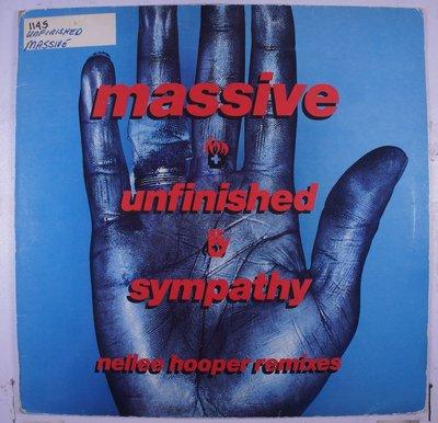 《二手英版單曲黑膠》Massive Attack -Unfinished Sympathy