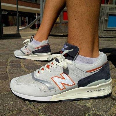 美國製 New Balance 997 新百倫 NB 美產 M997CSEA 灰橘 米白 經典 麂皮 復古 男女鞋
