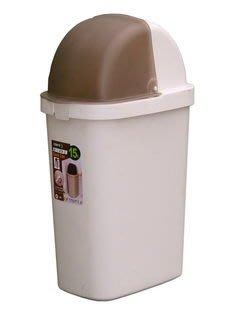 315百貨~復古典雅風~C6015大福星垃圾桶 *1入組 / 掀蓋細長型 堅固耐用 技術學院科技大學工商團體適用
