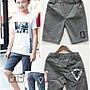 三角標章短褲【282061】~ 男大童120- 170cm...