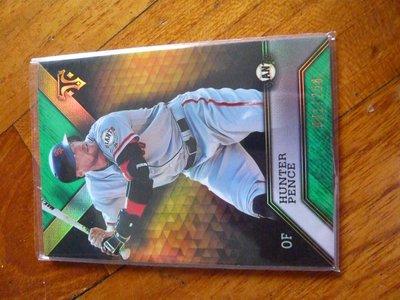 強打外野手HUNTER PENCE限量081/250高價版特卡~25元起標
