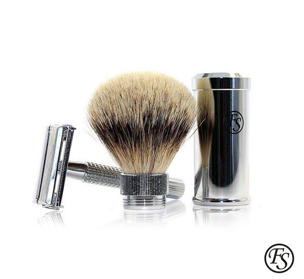 GOODFORIT / 香港Frank Shaving Travel Set 傳統刮鬍刀套組/兩色
