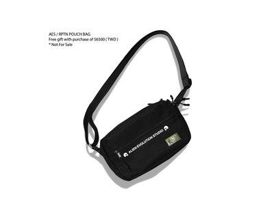 刷卡 貨到付款(全新) REPUTATION X AES Pouch Bag R.P.T.N 側背包 斜背