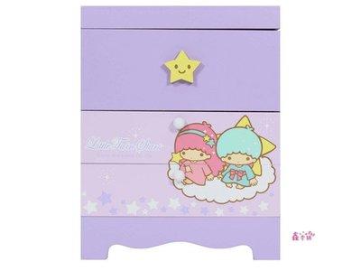 鑫本舖雙子星繽紛化妝鏡兩抽收納盒 置物盒 小物盒 飾品盒