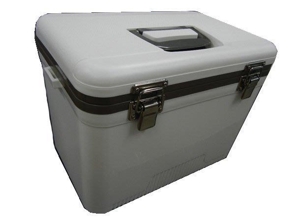 [奇寧寶雅虎館] 400041-13W 保冷王戶外休閒冰箱冰桶13L(白色)/行動專用保存保冰保溫保存保冷藏保鮮活餌海釣