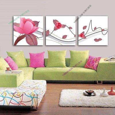 【70*70cm】【厚0.9cm】紅色浪漫-無框畫裝飾畫版畫客廳簡約家居餐廳臥室牆壁【280101_021】(1套價格)