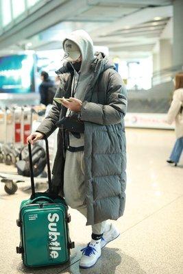 潮牌Subtle AFAR旅行箱小型20吋行李箱 女輕便拉桿背包 旅行包 登機箱 隨身行李箱