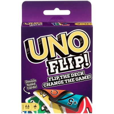 UNO FLIP! Double Sided Card Game 新雙面UNO Flip