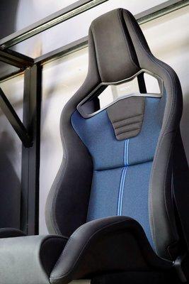 新產品 日本RECARO Sportster小改款CS GK黑/藍 座椅電熱/椅背電動調整/腰部充氣賽車椅