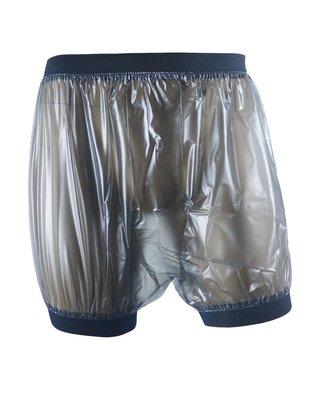 睡豬豬睡衣店~ADULT BABY incontinence PLASTIC PANTS Transparent塑料平角褲